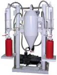 Станция зарядная порошковая для огнетушителей СЗП-04, два рабочих места (от 1 до 100 кг)